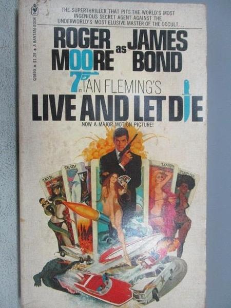 【書寶二手書T1/原文小說_MOO】Live and Let Die_Lan Fleming