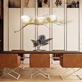 餐廳吊燈現代簡約鳥巢客廳燈創意三頭