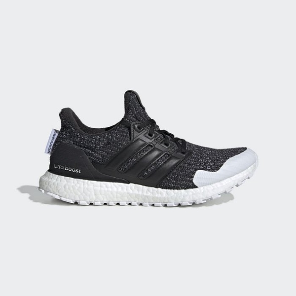 ISNEAKERS Adidas ULTRA BOOST X GOT 冰與火之歌 黑白 雪花 編織 聯名款 EE3707