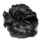 【頭髮增量】假髮甜甜圈(具鬆緊帶可綁)加厚 (黑色) [28450]