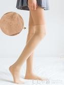 薄款長筒襪女過膝大腿絲襪高筒日系夏天硅膠防滑分腿春秋長襪肉色