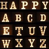 【BlueCat】英文字母 LED造型燈 裝飾燈 氣氛燈 夜燈 室內裝飾