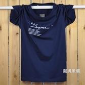 加肥加大男裝棉質短袖t恤特大尺碼超大號胖人胖子肥佬半袖寬鬆體恤S-5XL
