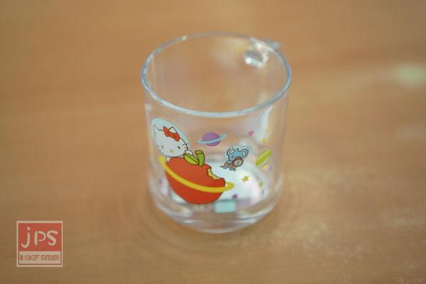 Hello Kitty 太空 壓克力水杯 (蘋果)