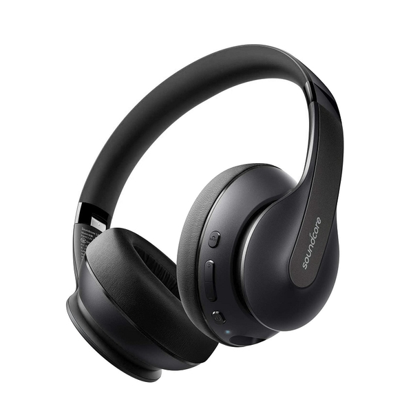 Anker Soundcore Life Q10 耳罩式耳機 A30320F2 可折疊 60小時播放 Hi-Res認證 黑色 [2美國直購]