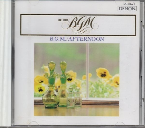 【停看聽音響唱片】【CD】B.G.M / AFTERNOON PENELOPE / AMAPOLA etc.