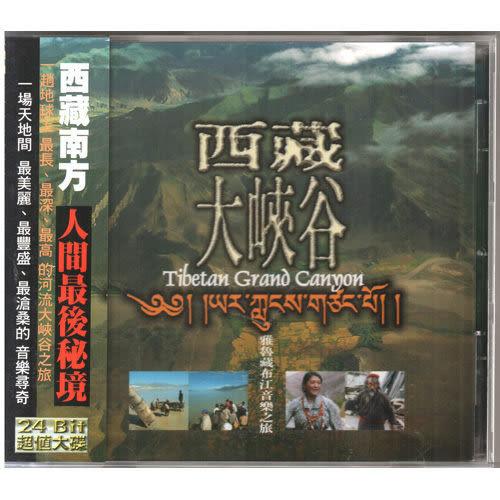 西藏大峽谷 CD  藏族 門巴族 珞巴族 民族音樂 音樂時代人間?祕境