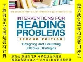 二手書博民逛書店Interventions罕見For Reading Problems, Second Edition-閱讀問題幹