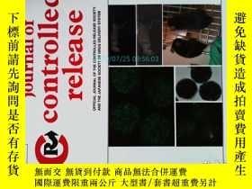 二手書博民逛書店Journal罕見of Controlled Release 10 01 2013控制釋放醫學學術期刊Y146