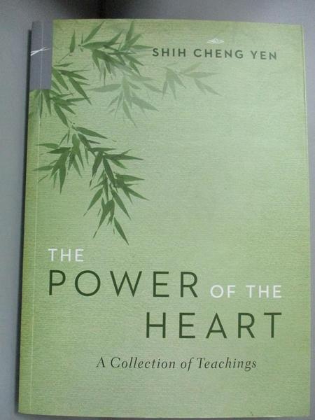 【書寶二手書T9/宗教_KQU】The Power of the Heart_Cheng-yen Shih