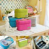 韓版 便當保溫袋 保溫 保冰 保溫袋 收納包 手提式 旅行袋 野餐提袋【歐妮小舖】
