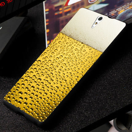 SONY Xperia C5 Ultra E5553 手機殼 軟殼 保護套 啤酒氣泡