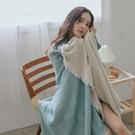 涼被 四層紗涼毯 150x200cm【艾綠】薄被 四季被毯 吸濕排汗 翔仔居家