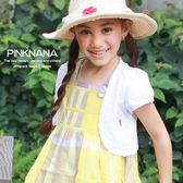 粉紅娜娜童裝 女童夏季短袖小外套小披肩 薄外套禮服外套 T12022
