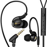 游戲K歌耳麥耳機入耳式重低音炮小米手機電腦通用女生