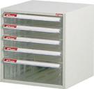 樹德 專業5層桌上型 文件資料收納檔案櫃 A4-105P