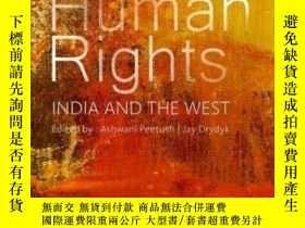 二手書博民逛書店【罕見】2015年出版 Human Rights: India