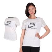 NIKE 女短袖T恤 (短T 路跑 慢跑 免運 ≡排汗專家≡