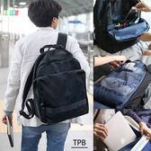 [潮流堂] 時尚休閒大容量防潑水多收納可插拉桿後背包 可放15吋筆電 172506021