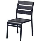 餐椅 CV-766-7 702塑膠黑色椅【大眾家居舘】