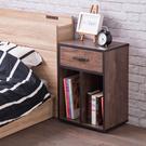 收納櫃 邊櫃 床頭櫃【收納屋】德爾一抽收納櫃/邊櫃/床頭櫃&DIY組合傢俱
