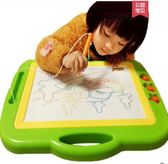 小黑板超大號兒童畫畫板磁性彩色寫字板家用涂鴉板寶寶1-3歲2玩具igo 法布蕾輕時尚
