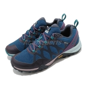 Merrell 戶外鞋 Siren 3 GTX 藍 紫 女鞋 運動鞋 Gore-Tex 防水 【ACS】 ML034996