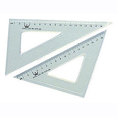 Life 徠福KTR-20塑膠三角板20cm