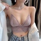 小可愛 2020夏裝新款氣質性感美背蕾絲V領吊帶小背心修身打底文胸內衣  店慶降價