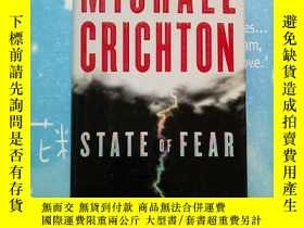 二手書博民逛書店MICHAEL罕見CRICHTON STATE OF FEAR(