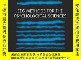 二手書博民逛書店Eeg罕見Methods For The Psychological Sciences-心理科學的腦電圖方法Y