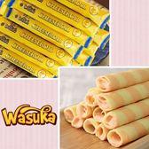 (有效期限至2018/12/25)【Wasuka】特級起司威化捲50支/袋(600g)-奶蛋素