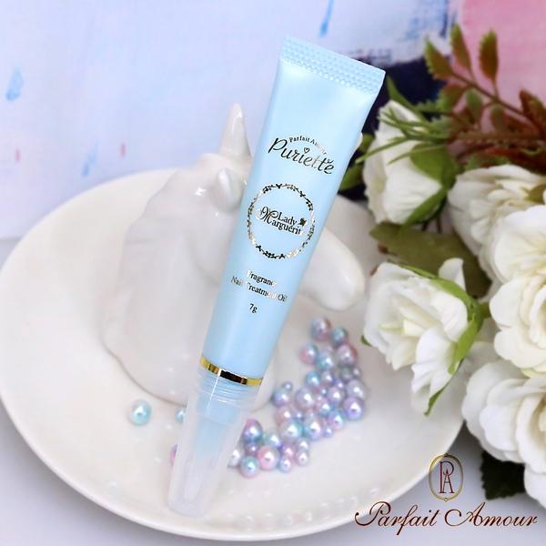 日本 Parfait Amour 指甲香氛護理油 桃&梔子 7ml 香水指緣油