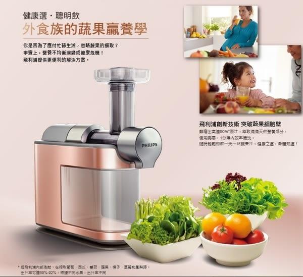 (限量)飛利浦PHILIPS 蔬果鮮磨機HR1932 可製作鮮果冰沙.快速清洗.低噪音