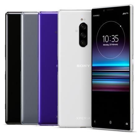 SONY XPERIA 1 (J9110) 大師級手機 6.5吋21:9螢幕 (6GB/128GB)  (公司貨/全新品/保固一年)