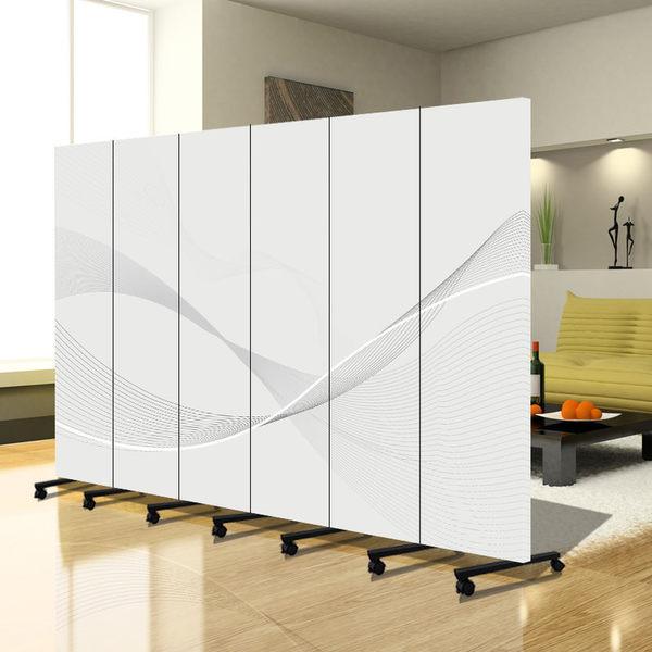 屏風 隔斷可移動 可折疊背景裝飾屏風 單片價【潮咖範兒】