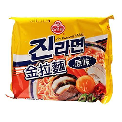 韓國泡麵 OTTOGI不倒翁 金拉麵 原味 單包入