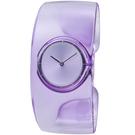 ISSEY MIYAKE三宅一生O系列透明手鐲腕錶-淺紫-VJ20-0100P NY0W003Y