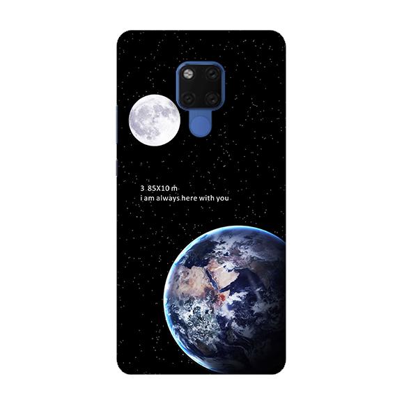 [mata20 軟殼] 華為 HUAWEI Mate 20 手機殼 保護套 外殼 地球月球