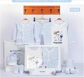 純棉嬰兒衣服新生兒禮盒套裝0-3個月6秋冬季初生剛出生寶寶用品