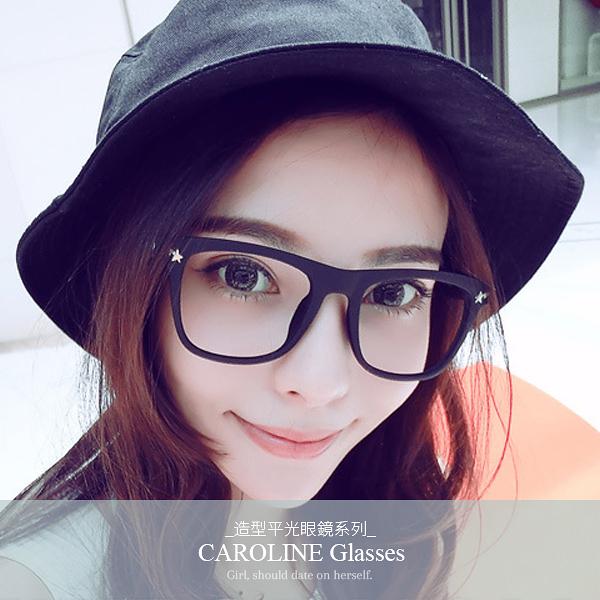 《Caroline》年度最新網紅款潮流行時尚平光眼鏡 71893