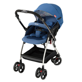 Aprica 愛普力卡 四輪自動定位導向型嬰幼兒手推車 Optia新視野-品格藍【佳兒園婦幼館】