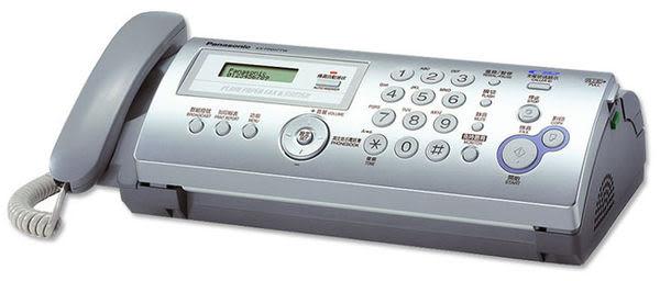 ◤全新品 含稅 免運費◢ Panasonic KX-FP207TW 轉寫式普通紙傳真機 (閃亮銀)【需預購】