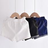 男童牛仔短褲 超柔軟~男童短褲新款童裝夏季兒童短褲薄款洋氣寶寶牛仔褲-Ballet朵朵