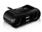 3.1A雙USB2孔點菸器擴充座 WA-...