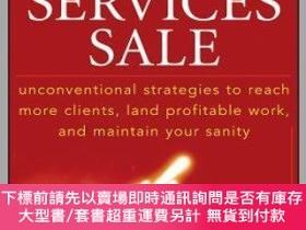 二手書博民逛書店預訂Winning罕見The Professional Services Sale: Unconventional