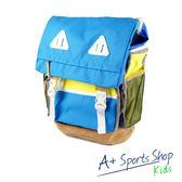 adidas 愛迪達 ST BP12 雙肩後背包 藍 -AB6183