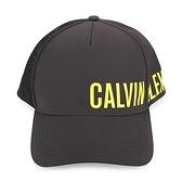 CalvinKlein CK品牌字母透氣棒球帽(黑色)103152