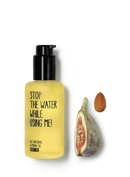 Stop the water while using me! 甜杏仁無花果潤膚油