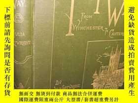 二手書博民逛書店1901年罕見THE PILGRIM S WAY FROM WI